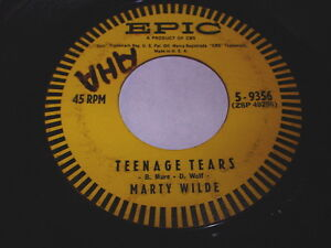 Marty-Wilde-Teenage-Tears-Bad-Boy-45