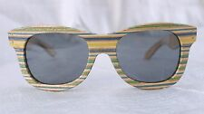 SK8 SHADES - Funky sunglasses made from  recycled wooden skate boards. NWOT!!!