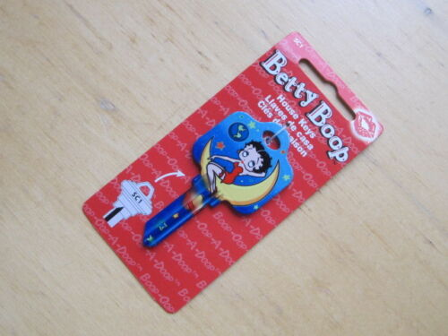 SC1 HOUSE KEY BLANK BETTY BOOP OUT OF THIS WORLD for SCHLAGE lock Made in USA
