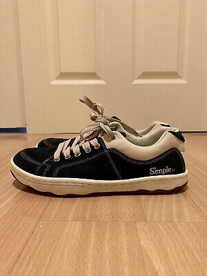 Simple OS Sneakers - Suede - Navy (US 9