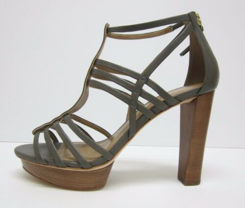 New Talbots Marie Leather Gladiator Strappy Pump High Heel Sandals $159