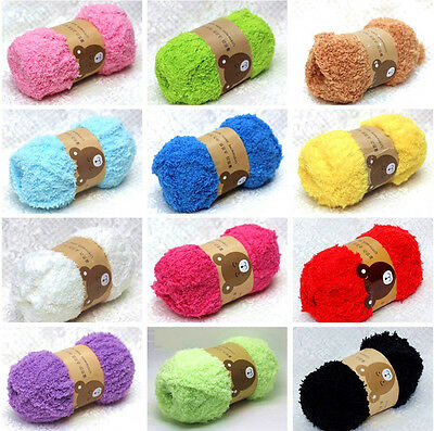 50g Super Soft Double Knitting Yarn Natural Wool Acrylic Baby Smooth Ball NE