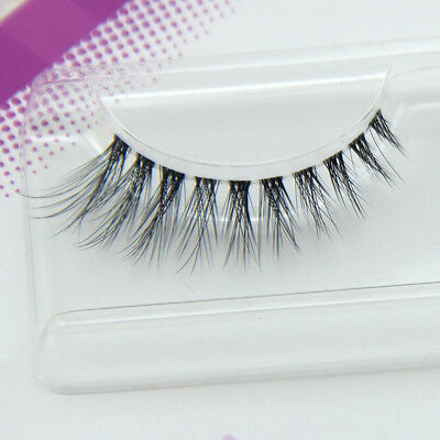 New Arrival 3 D Multilayer Strip False Eyelashes Volume Looking 3 Pairs/Lot