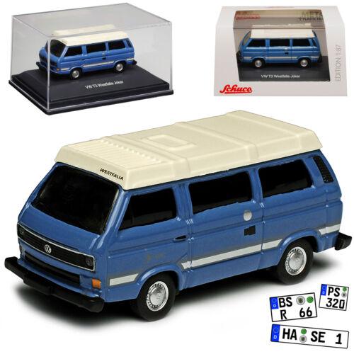 VW Volkswagen T3 Joker Westfalia Camper Bus Personen Transporter Blau mit Weiss