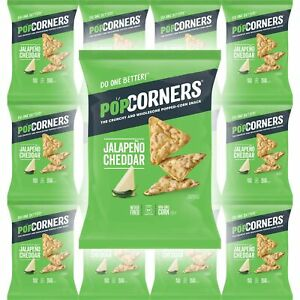 Popcorners Jalapeno Cheddar Snack, Never Fried, NON-GMO ...