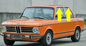 BMW-E10-Regenrinne-links-Zierleiste-Chromleiste-1502-bis-2002-Tii-2002-turbo