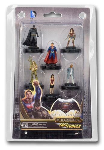 DC HeroClix: Batman vs Superman Dawn of Justice Movie Fast Forces Pack - HeroCli