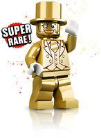 LEGO MR GOLD MINI FIGURE 3130/5000 SERIES 10 COMPLETE NEW SET 71001 SUPER RARE!