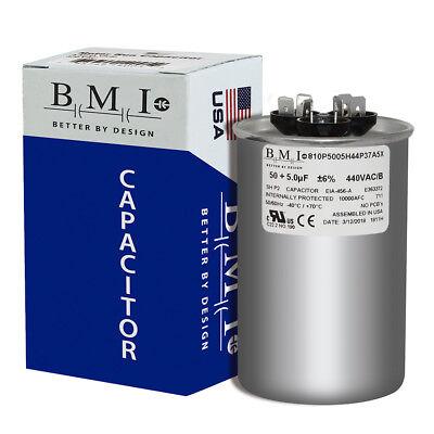 Lennox Ducane Replacement 50//5 uf MFD x 440 VAC # 27L569 Genteq GE Capacitor