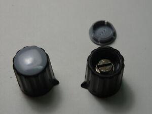 Lot de 5 boutons de potentiom/ètre rotatif en aluminium 21 x 17 mm