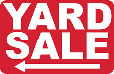 2 - YARD SALE <----- - SIGNS- #PS-425