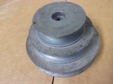 3 Step Pulley V Belt Groove Electric Motor Drive 3 12 2 Lathe Drill Press Vtg