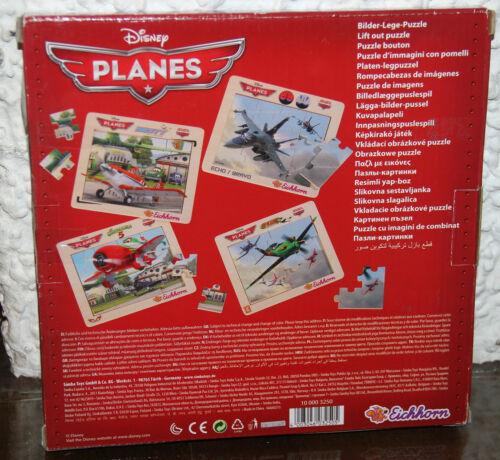 Disney PLANES DUSTY Lift Out Puzzle Eichhorn Bilder-Lege-Puzzle Holz Holzspielzeug