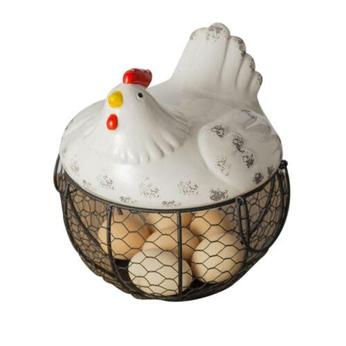 Egg Storage Metal Wire Decoration Basket Chick Shape Egg holder CHICKEN HOT
