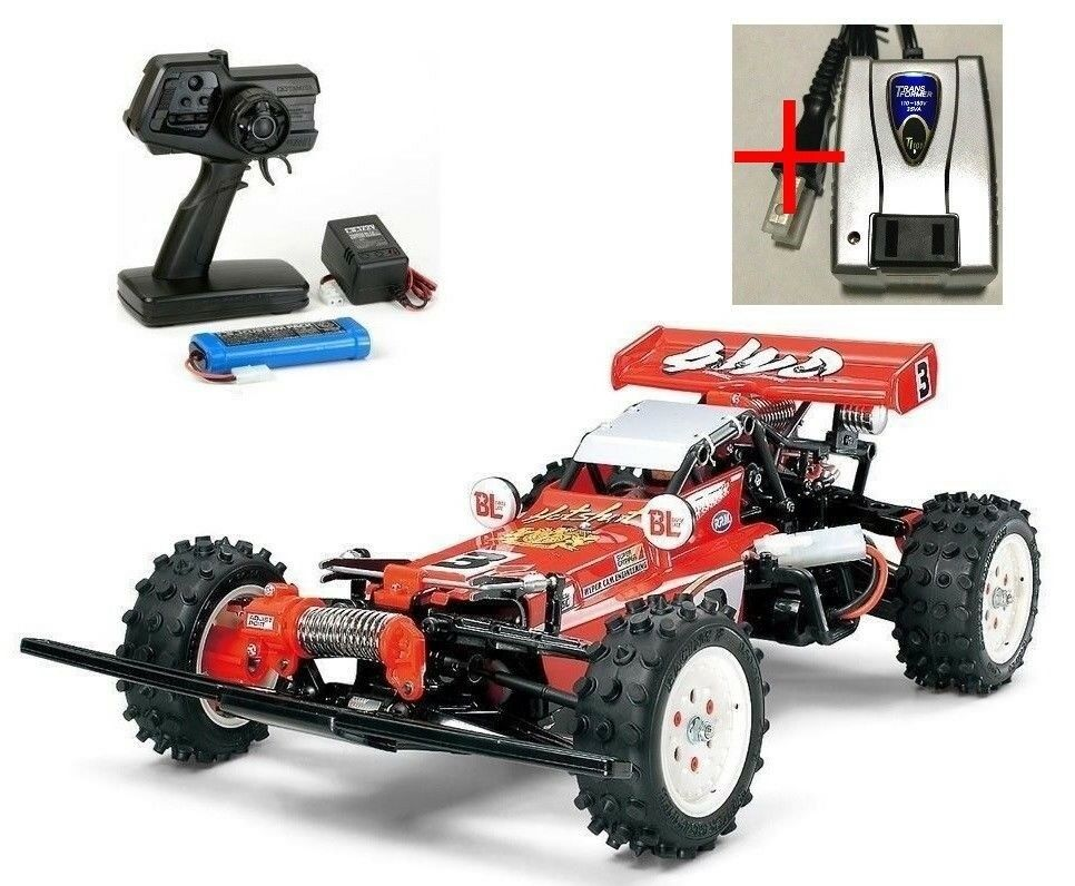 Tamiya Hotshot 1 10 XB Series Ready To Run RC car w  VOLTAGE CONverdeER 57785 F S