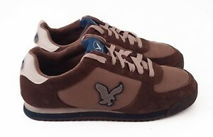 Tan Athletic Lace-Up Running Shoes