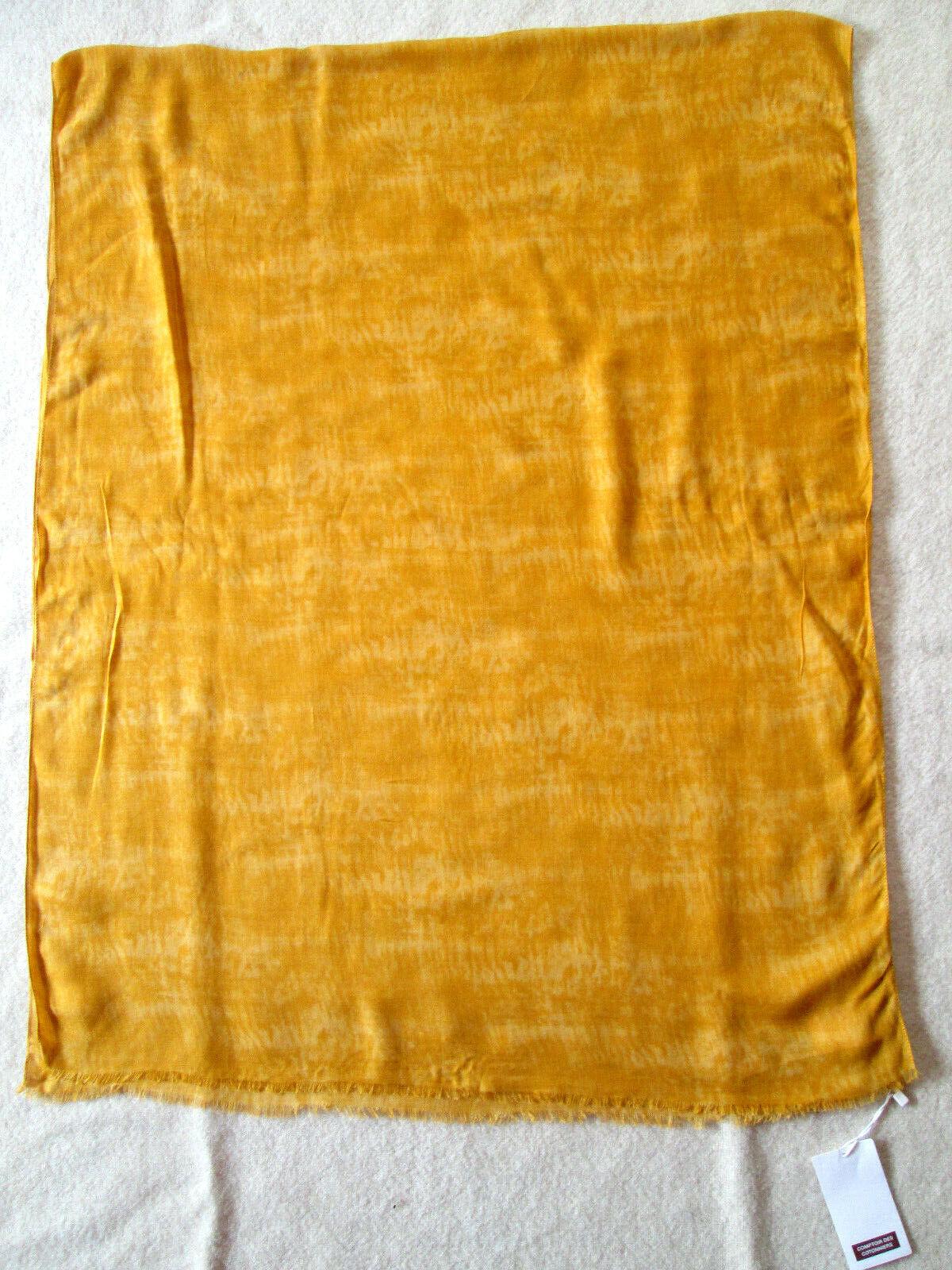- comptoir des cotonniers stole viscose scarf vintage 70 x 180 cm