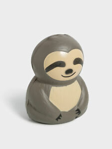 New-Typo-Unisex-Novelty-Sloth-Squishy-In-Grey-Gifts-Home-amp-Office-Gifts