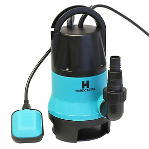ELECTRIC SUBMERSIBLE PUMP FOR CLEAN OR DIRTY WATER - FLOOD/POOL/GARDEN/WELL/POND