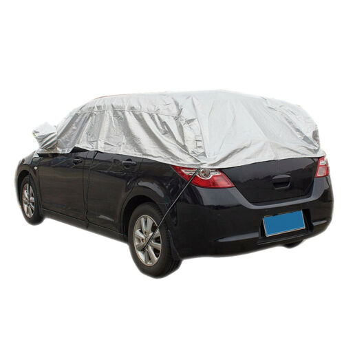Nylon Top Half Car Cover Windshield Snow Sun Ice Waterproof Resistant Protection