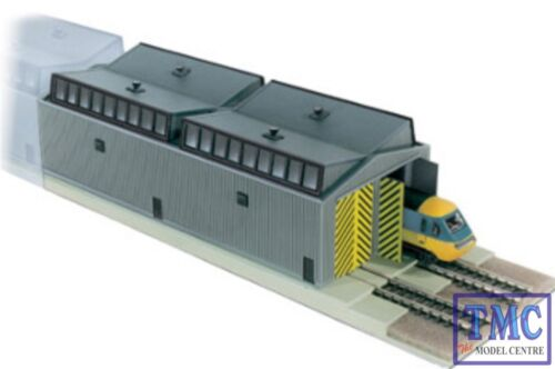 NB-80 Peco N Gauge Train Shed Unit x 1