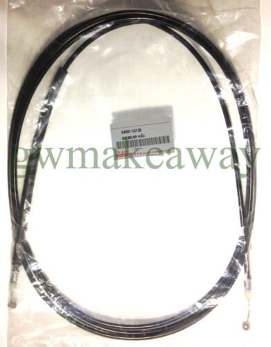 TOYOTA COROLLA EE80 EE90 AE92 Rear bonnet hood release cable no.64607-12130