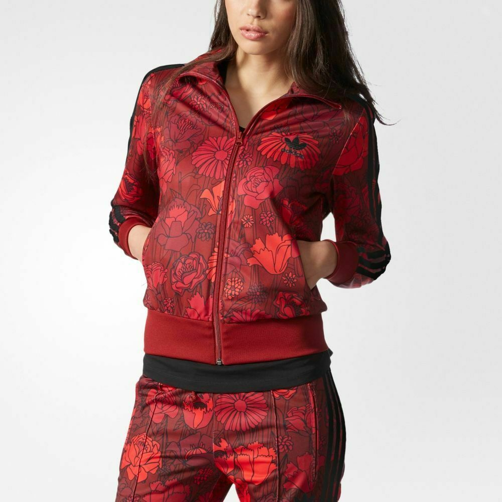 adidas firebird rose track top