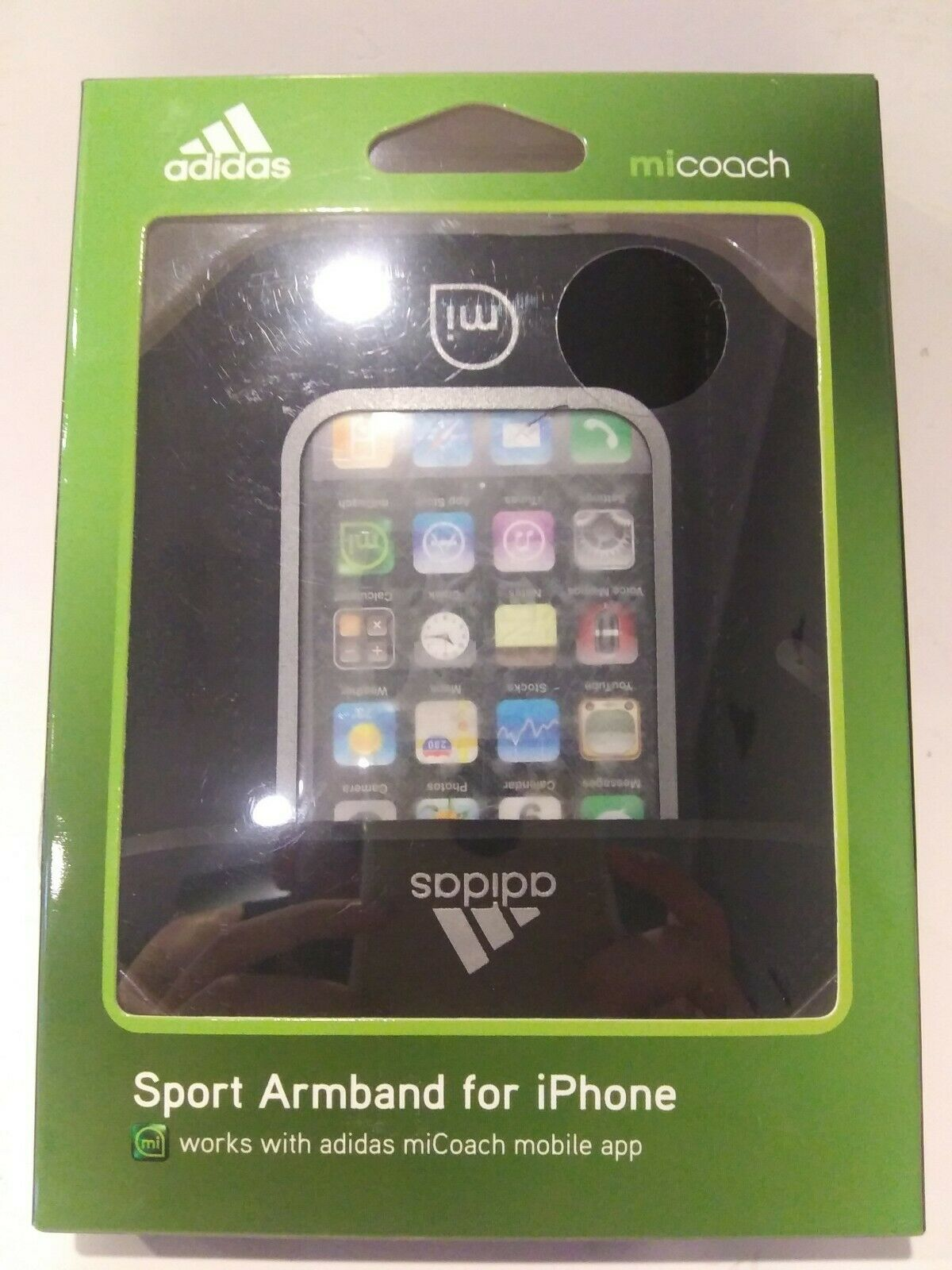 Soleado músculo huevo  Adidas Micoach Sport Armband for Iphone 4 | 4S by Griffin GB01817 for sale  online