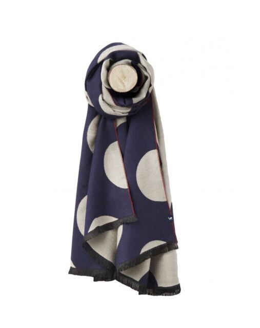Square Silk Scarf In French Navy