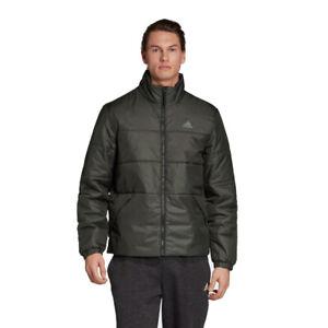 Adidas DZ1398 BSC 3-Stripes Insulated Winter Legend Earth Jacket