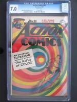 Action Comics #89 DC 1945 - CGC 7.0 FN/VF - Superman - 4th HIGHEST GRADE!!!