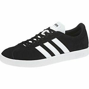 ADIDAS Hommes Vl Court 2.0 M Sneaker Chaussures da9853 Noir Blanc