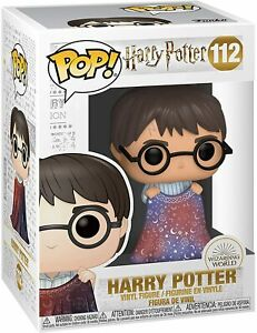 Harry Potter #112 Harry with Invisibility Cloak Funko Pop Harry Potter