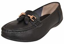 dde1c4e27a98 item 3 Womens Leather Flat Loafers Ladies Casual Comfy Slider Low Wedge  Heel Work Shoes -Womens Leather Flat Loafers Ladies Casual Comfy Slider Low  Wedge ...