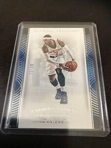 Panini-National-Treasures-Carmelo-Anthony-Base-SP-Knicks-Blazers-99