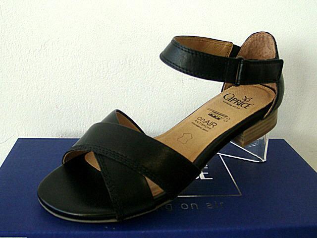 Caprice Sandalen Leder Sandaletten Schuhe schwarz Gr.37-42 9-28106-22-001 Neu23