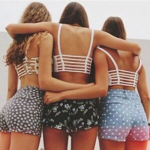 New-Women-Sexy-Fashion-Padded-Hollow-Out-Backless-Short-Tops-Crop-Tank-Tops