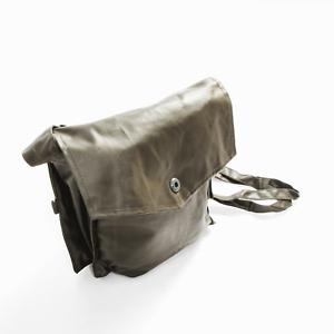 Original East German army surplus waterproof gas mask shoulder bag