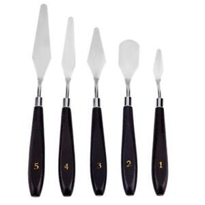 5pcs-Stainless-Steel-Spatula-Palette-Painting-Mixing-Scraper-Tool-Set-New