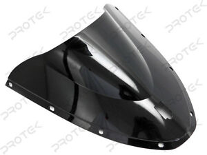 ABS-Smoke-Black-Double-Bubble-Windscreen-Windshield-for-Ducati-749-999-S-SP-R