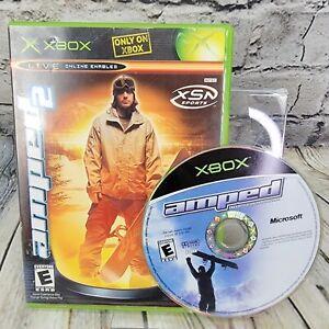 Amped 1 & 2 (Microsoft Xbox) 2 Disc Game Lot Bundle - FREE SHIPPING
