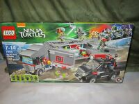 Lego Big Rig Snow Getaway Truck 79116 Teenage Mutant Ninja Turtles Set Harai Toys