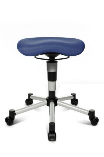 Büro-Hocker Drehhocker Fitnesshocker Bürostuhl Topstar Body Balance 20 blau