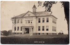 Real Photo Postcard Mark Emery School in North Anson, Maine~106826