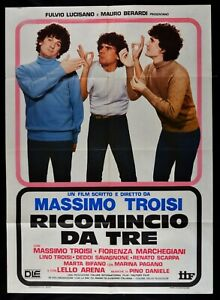Manifesto Groundhog Day For Tre Massimo Troisi Pino Daniele 1 Ed 6499 4/12ft292