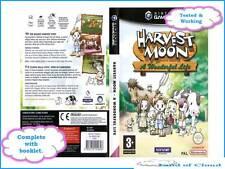 Harvest Moon A Wonderful Life - Nintendo Gamecube - FAST SAFE EU WIDE POST