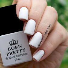 10ml Born Pretty White Nail LED UV Polish Soak Off One-step UV Gel Polish DIY