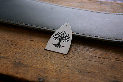 Hand Made Truss Rod Cover that fits Paul Reed Smith Guitar PRS - Tribal Tree