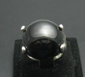 STYLISH-STERLING-SILVER-RING-SOLID-925-BLACK-ONYX-NEW
