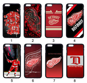 NHL Detroit Red Wings Case For Samsung iPhone iPod Motorola